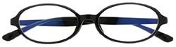 オーバル型眼鏡