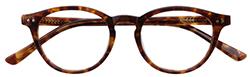 ボストン型眼鏡